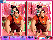 Play 10 differences wreck it Game