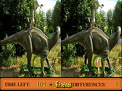 Differences in Dino Land game