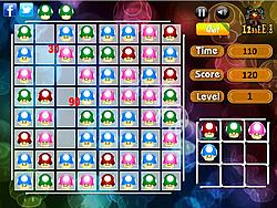 Colorful Mushroom Match game