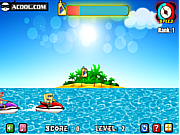 Play Spongebob jet ski Game