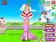 Pink Barbie Dressup game