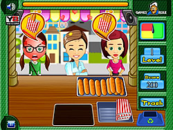 Time for Chat Foods game