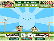 Play Sumo sushi soccer Game