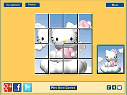 juego Hello Kitty Clouds