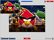 Play Angry birds jigsaw game Game