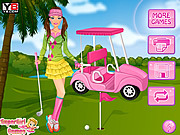 Play Golf barbie Game