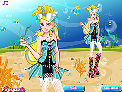 It Girl- Dress Up Like Lagoona Blue game