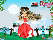 Play Castle wedding dressup Game
