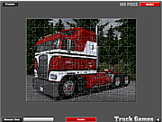 Play American truck puzzle Game