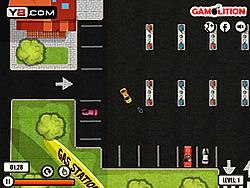 Spielen Sie das Gratis-Spiel  Taxi Parking Mania