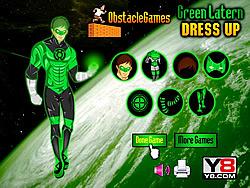 Green Lantern Dressup game