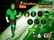 Play Green lantern dressup Game