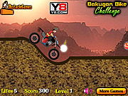 Play Bakugan bike challenge Game