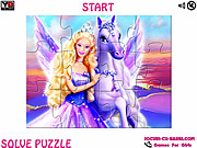 Play Magic of pegasus barbie jigsaw Game