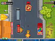 Play Food battle truck Game