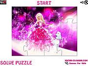 Play Barbie fairytale jigsaw Game