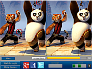 Play Panda and friends difference Game