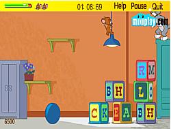 Jucați jocuri gratuite Tom & Jerry School Adventure