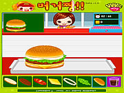 Play Hamburger girl Game
