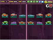 Cars mirror match game