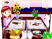 Play Dinner decoration Game