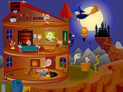 Play Halloween house makeover 2 Game