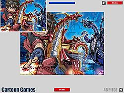 Bakugan Jigsaw Puzzle game