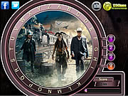 The Lone Ranger Hidden Alphabets game