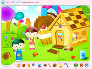 Play Hansel and grethel decoration Game
