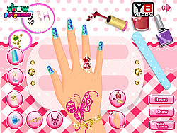 2013 Nail Fashion Show game