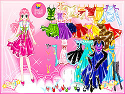 Stage Gown Dress up game