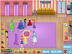 Prom Shop game