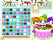 Juega al juego gratis Ice Cream Shoppe Match