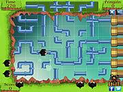 Jogar jogo grátis Penguin Pipe Maze