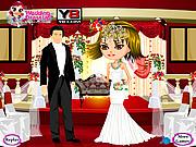 Celebrity Wedding Dressup game