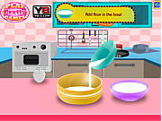 Play Cook strawberry cake Game