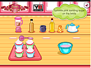 Play Hello kitty apples and banana cupcakes Game