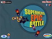 Play Superhero epic battle Game