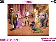 Play Island princess jigsaw Game