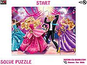 Play Princess charm school party jigsaw Game