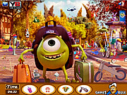 Play Monsters university objects Game