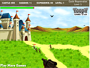 Play Protect king castle Game