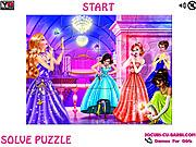 Play Makeup princess jigsaw Game