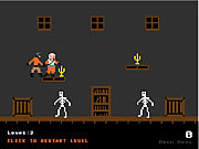 Haunted House Candy Hunt game