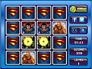 Super Heroes Memory Matching game