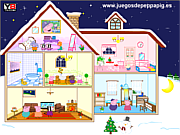 Play Peppa pig doll house Game