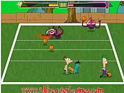 Play Phineas and ferb alien ball Game