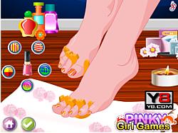 Jogar jogo grátis Luxury Spa Nail Pedicure