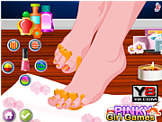 Luxury Spa Nail Pedicure game