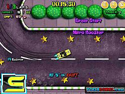 Spongebob Speed Car Racing 2 game